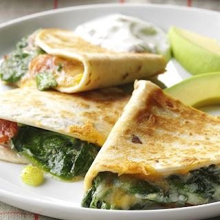 Spinach Quesadillas Recipe