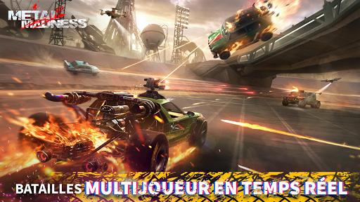 METAL MADNESS PvP: action d'arène de tir en ligne  screenshots 3