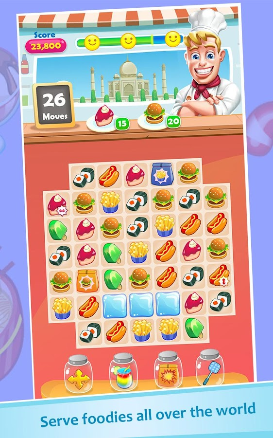 Food Crush: Match 3 Games- screenshot
