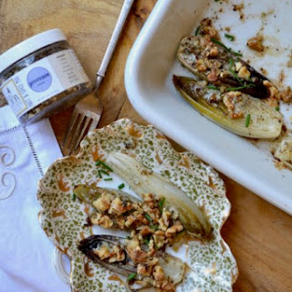 Belgian Endive with Walnuts and Bluecheese Recipe