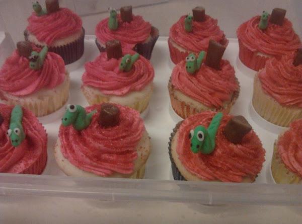 Book Worm Cupcakes Recipe