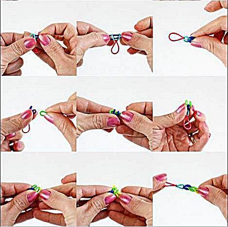 橡皮筋手鐲設計
