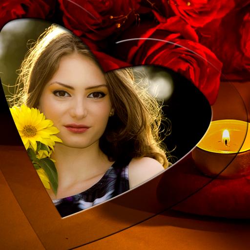 ロマンチックなフォトフレーム 攝影 LOGO-玩APPs