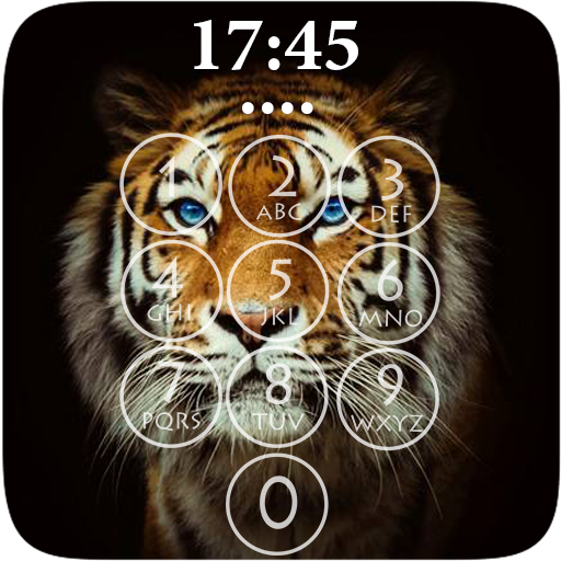 Tiger 3D Lock Screen Android APK Download Free By BinCorentin