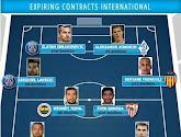 De grands noms seront en fin de contrat au terme de la saison 2015-2016