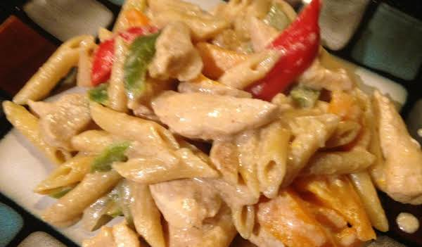 Chicken Fajita Pasta Recipe