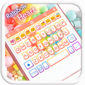Rainbow Heart Emoji Keyboard