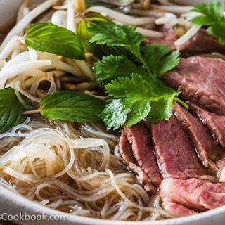 Easy Vietnamese Pho Noodle Soup.