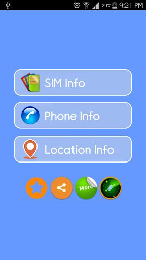 Phone Sim and Address Details