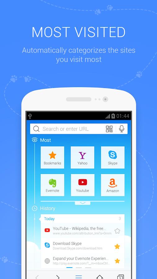 BaiduBrowser(Fast&Secure)- screenshot