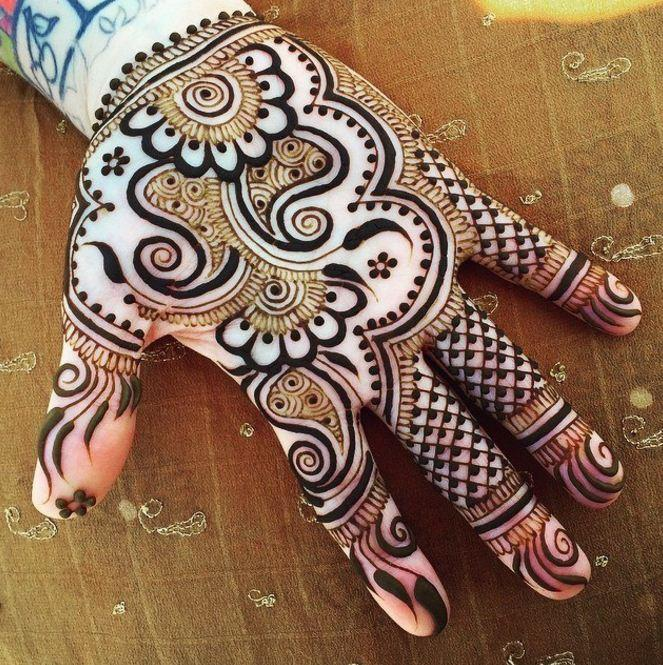 Design For Mehndi For Teen Agers 52