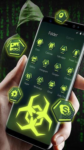 Secret Hacker Launcher Theme 1.1.5 screenshots 5