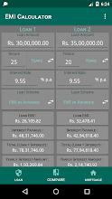 EMI Loan Calculator screenshot thumbnail