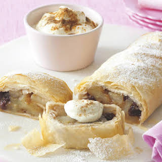 Spiced Apple Strudel.