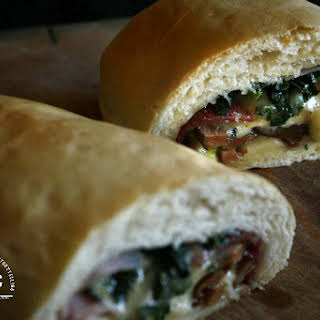Stromboli aka Stuffed Bread – a step by step.