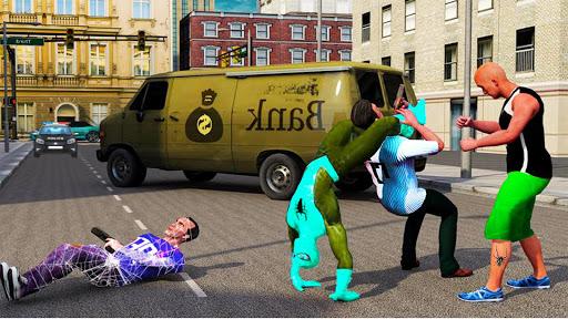 Amazing Frog Rope Web Hero: héros de puissance  captures d'écran 2