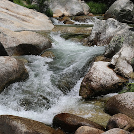 Stones and water by Gil Reis - Nature Up Close Rock & Stone ( spain, places, nature, stones, travel, water )