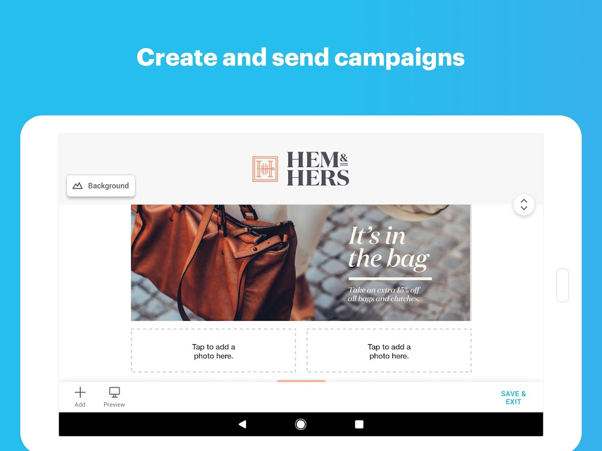 MailChimp - Email, Marketing Automation- screenshot