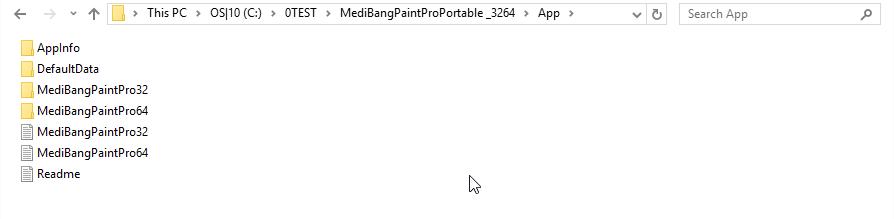 Prepare app folder