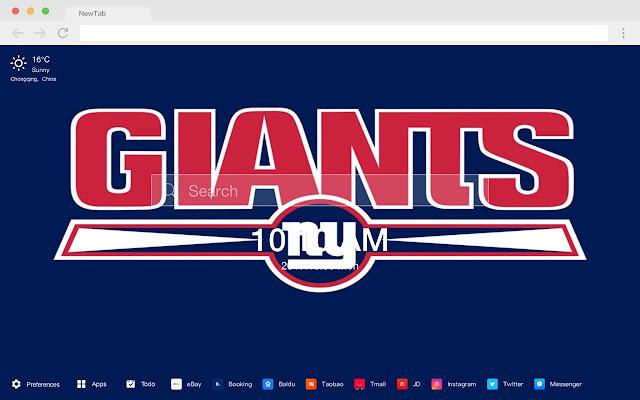 NFL Teams HD Popular Football New Tabs Theme