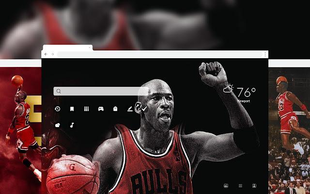 Michael Jordan NBA Basketball HD Theme
