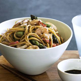 Shrimp and Calamari Stir-Fry.