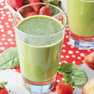 Healthy Hemp Heart Clean Green Smoothie.