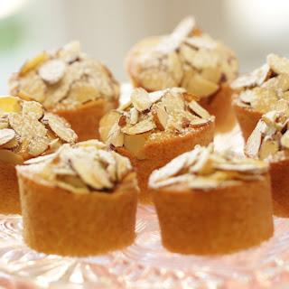 Beth's Raspberry Almond Thimble Cakes