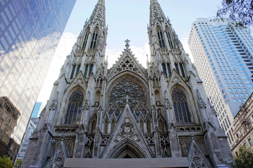 st-patricks-new-york.jpg - The Cathedral of St. Patrick in midtown Manhattan opened in 1879.