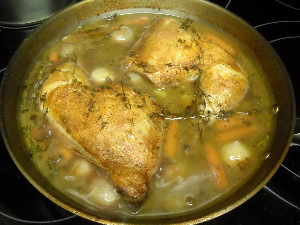 Braised Chicken Merlot Recipe