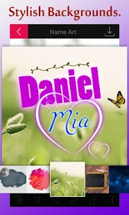 Name Art: Name Editor In Style - náhled