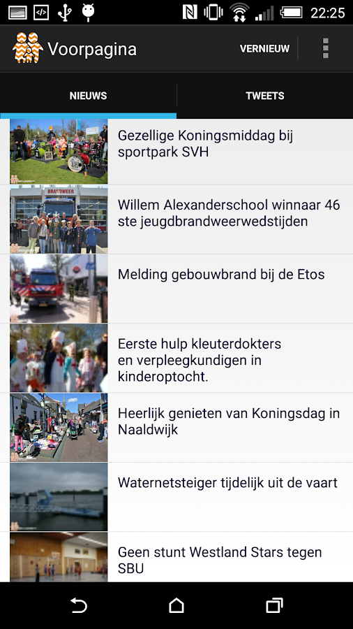 Westlanders.nu - screenshot