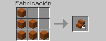 crafteo escaleras sandstone roja