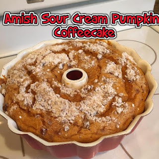 Amish Sour Cream Pumpkin Coffeecake