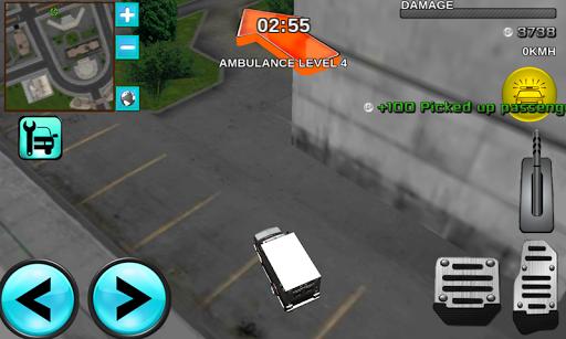 市ガーディアン救急シムの3D