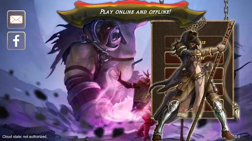 Azedeem: End of Era. Trading Card Game (TCG) 2.13 screenshots 1