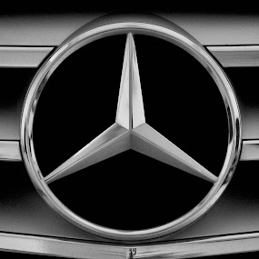 The Star of Sindelfingen by Ibrahim Johan - Transportation Automobiles ( b&w, close up, w204 )