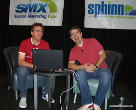 Photo: SMX Advanced blast from the past. Danny Sullivan and Matt Cutts in June of 2008.