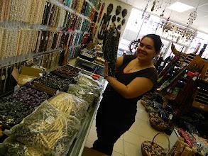 Photo: Amanda Unpacking new Beads !!! Business is Good /Life is Good !!!