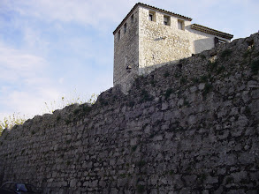 Photo: We move on 5 minutes by bus to St. Paul de Vence – one of the two most-visited villages in France, along with Mt. St. Michel. The 16th century ramparts surrounding the city date from its time as an independent city-state.