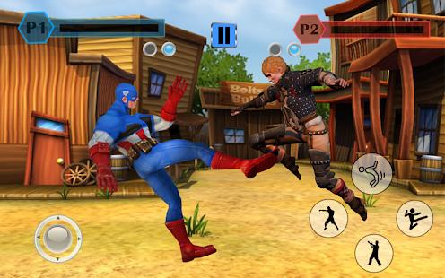 Grand Superhero Street Fighter Pro: City Adventure - náhled