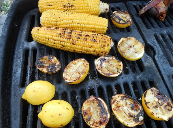 Place corn on grill and turn every few minutes.  You just want a...