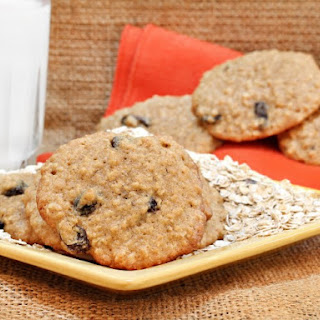 Cinnamon Applesauce Oatmeal Fatfree Cookies