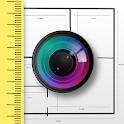 CamToPlan - AR measurement / tape measure icon