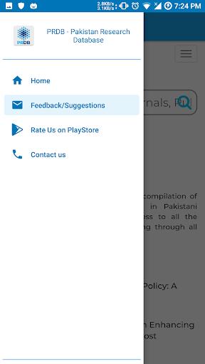 Pakistan Research Database screenshot 3