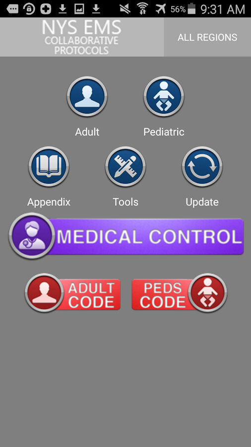 NYS EMS Collaborative Protocol- screenshot
