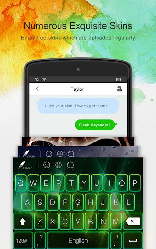 Flash Keyboard - Emojis & More screenshot 3