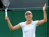 Elise Mertens zet samen met dubbelpartner Servische dames vlot opzij en staat in halve finales Wimbledon