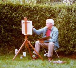 Photo: AB PAINTING IN CHAAM, NOORD BRABANT 1980