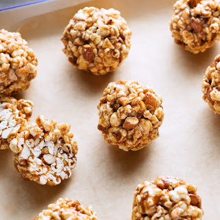 What's Not to Like About Honey Almond Popcorn Balls?